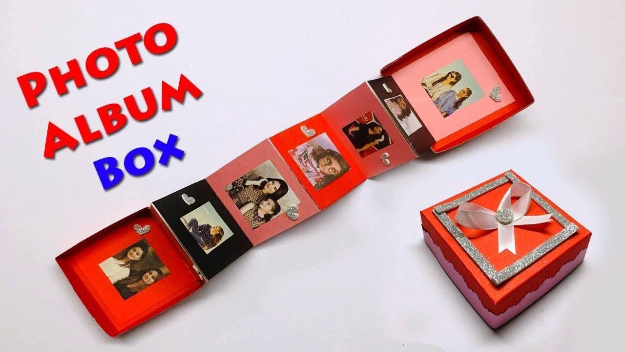 Darice 30032653 Craft Ideas And Home Decors Decorative Photo Storage Box 7 5 X 4 X 11 Green Stripes 1ct Amazon Ca Toys Games