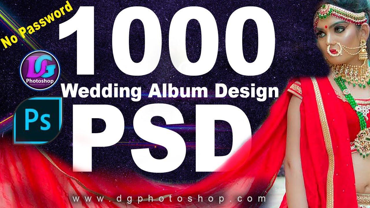 Dg Photoshop 1000 12x36 Wedding Album Psd Free Download Best