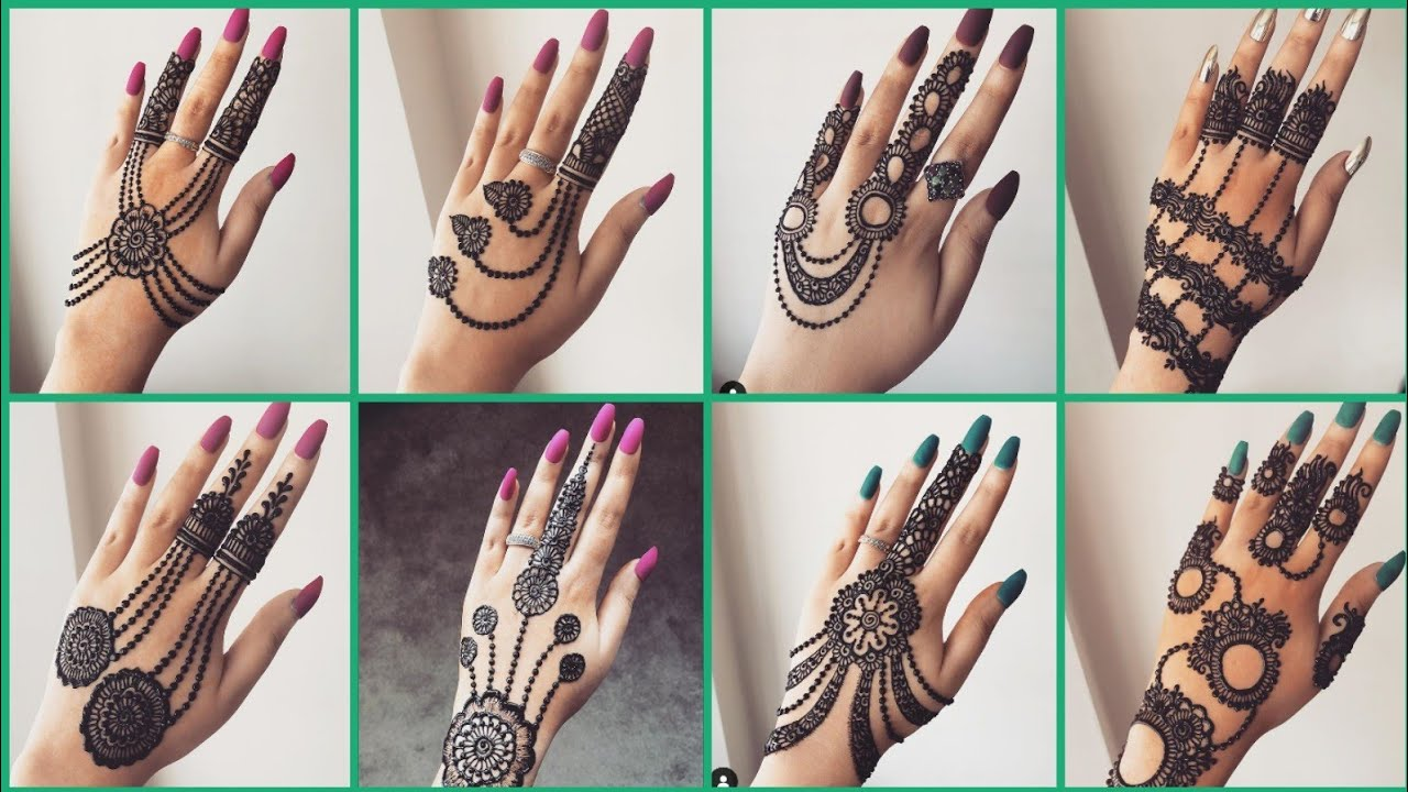Mehndi Designs Latest Images 2019 Easy And Simple Part 02