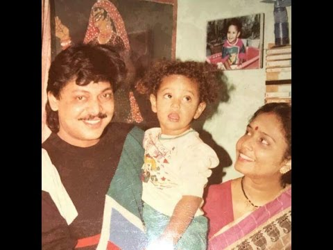Mihir Das and family