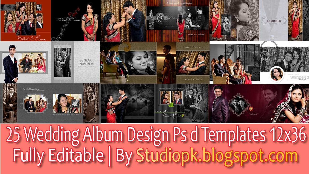 Wedding Album Design Psd Files 12x36 Free Download Wedding