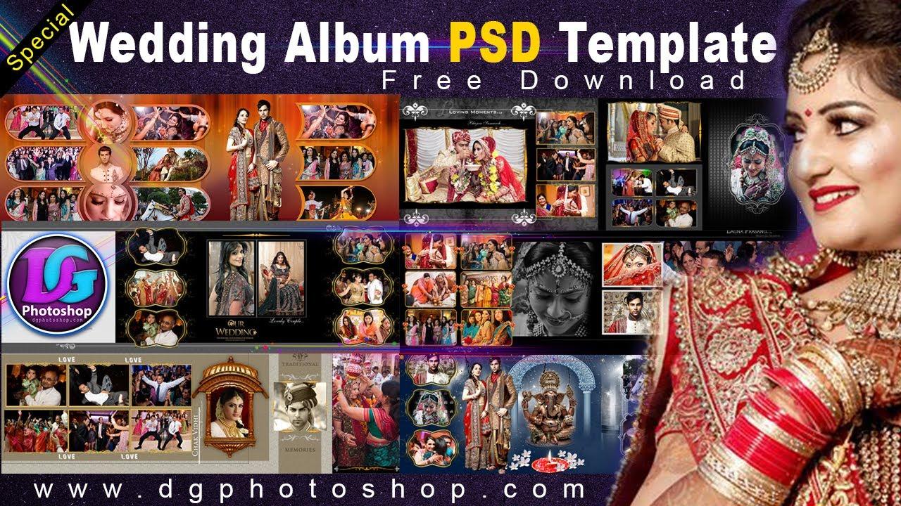 Special Wedding Photo Album Design Template 10 Psd Wedding