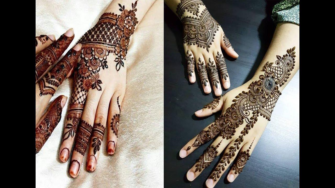 Beautiful Simple Bridal Mehndi Designs Henna Designs 2018 2019 For Hands Images Dslr Guru