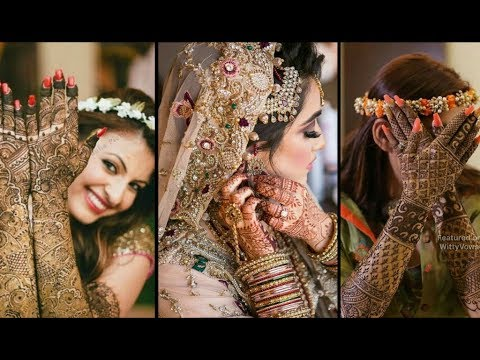 Beautiful Bridal Mehndi photoshoots